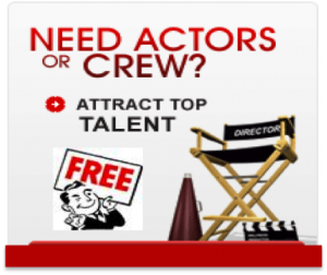 Post a casting and find the right talent!